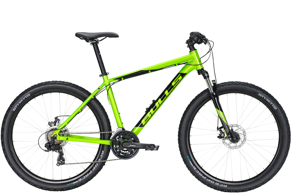 Bulls Wildtail 1 Disc 26 lime