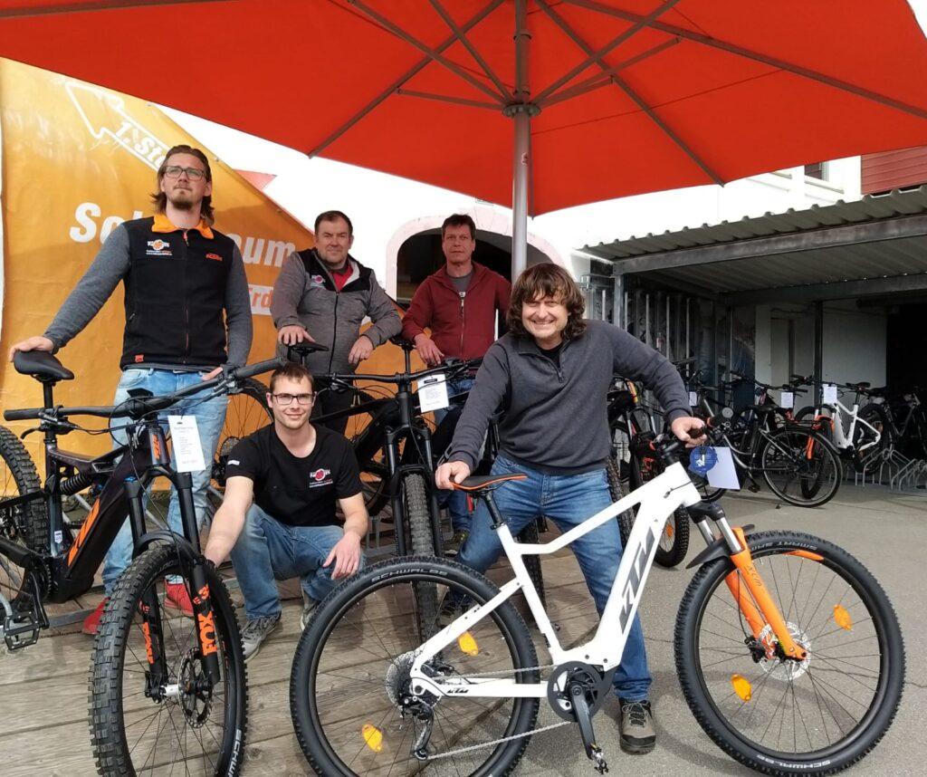 Bikeparadies Team Treffen